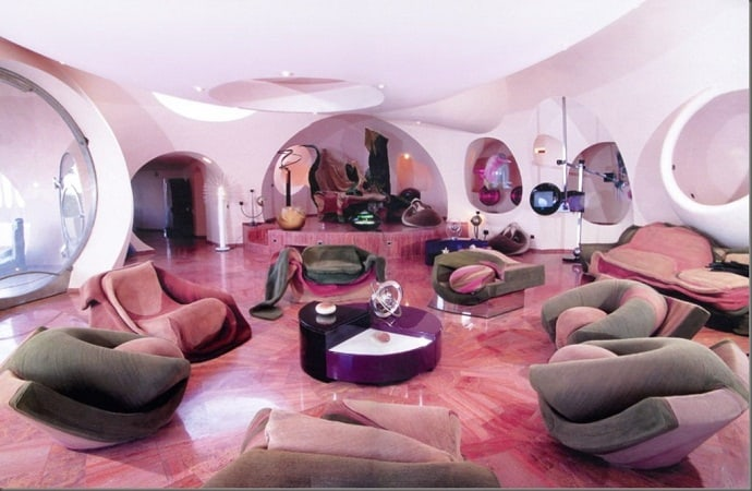 Pierre Cardin\'s Bubble House by Antti Lovag